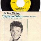 NM EPIC 5-10048 45 + PS BOBBY VINTON ~ Petticoat White