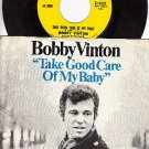 EPIC 10305 45 + PS BOBBY VINTON Take Good Care My Baby