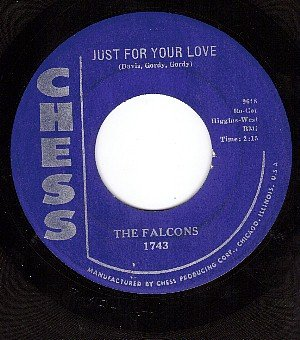 CHESS 1743 FALCONS Just For Your Love ~ This Heart Mine