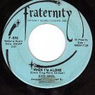 FRATERNITY 896 DICK NOEL When I'm Alone ~ Things We'll