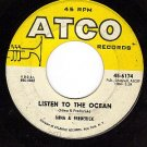 ATCO 6174 NINA & FREDERICK Listen To The Ocean/Hundred