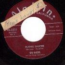ALADDIN 3331 45 SID NOEL Flying Saucer