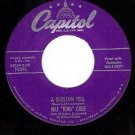 NM CAPITOL F3095 NAT KING COLE A Blossom Fell/If I May