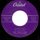 CAPITOL F3939 NAT KING COLE Looking Back ~ Do I Like It