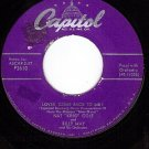 CAPITOL F2610 NAT KING COLE Lover Come Back To Me ~ All