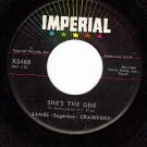 IMPERIAL 5468 JAMES (Sugarboy) CRAWFORD She's The One