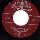 HOLLYWOOD 1021 CHARLES BROWN Merry Christmas Baby/Ride