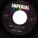 IMPERIAL 5902 CHARLES BROWN Merry Christmas Baby/I Lost