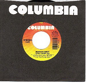 NM COLUMBIA 77358 MARIAH CAREY Never Forget You/Without