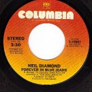 NM 45 COLUMBIA 10897 NEIL DIAMOND Forever In Blue Jeans