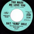 PROMO CAPITOL F4184 NAT KING COLE You Made Me Love You