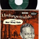 NM CAPITOL EAP 3-357 PS+ 45 NAT KING COLE Answer Me My