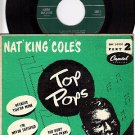 NM CAPITOL EAP 2-9110 PS+ 45 NAT KING COLE Because Mine