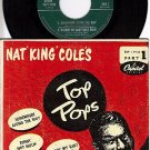 NM CAPITOL EAP 1-9110 PS+ 45 NAT KING COLE Somewhere