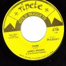 M- 45 rpm RIPETE 130 JAMES BROWN ~ Think ~ Try Me