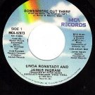 NM MCA 52973 LINDA RONSTADT/JAMES INGRAM Somewhere Out