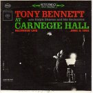 PS COLUMBIA 823 TONY BENNETT AT CARNEGIE HALL LIVE