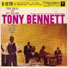 PS COLUMBIA B-10791 TONY BENNETT ~ The Beat Of My Heart