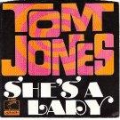PS 45 LONDON 40058 TOM JONES - She's A Lady
