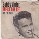 PICTURE SLEEVE PS BOBBY VINTON Roses Are Red/You And I