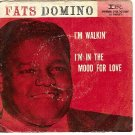 PS IMPERIAL 5426 FATS DOMINO I'm Walkin'/In The Mood