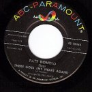 NM ABC 10444 FATS DOMINO There Goes ( My Heart Again)