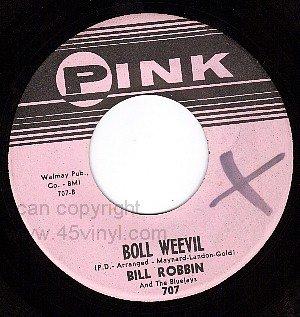 NM/M- PINK 707 45 BILL ROBBIN Boll Weevil ~ Near You