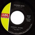 M- IR 66267 45 JOHNNY RIVERS Summer Rain ~ Coming Good