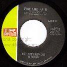 IR 66453 45 JOHNNY RIVERS Fire And Rain ~ Apple Tree