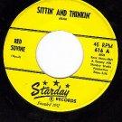 NM STARDAY 616 RED SOVINE Sittin And Thinkin/Million To