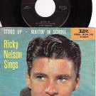 IMPERIAL 5483 45+ PS RICKY NELSON Stood Up/Waitin In