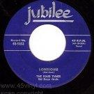 JUBILEE 5152 45 FOUR TUNES Lonesome ~ Greatest Feeling