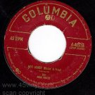 COLUMBIA 4-40516 FOUR VOICES Hey Honey/Honest Darling