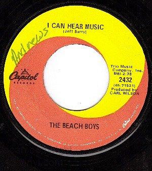 CAPITOL 2432 BEACH BOYS I Can Hear Music/All I Want To