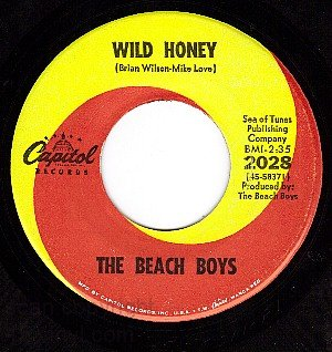 CAPITOL 2028 45 THE BEACH BOYS Wild Honey ~ Wind Chimes