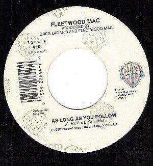 NM 45 WB 7-27644 FLEETWOOD MAC As Long As You Follow/Oh