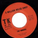 TK 112 THE UNIQUES ~ A Million Miles Away ~ All At Once