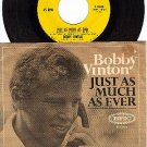 EPIC 5-10266 45+ PS BOBBY VINTON ~ Just As Much As Ever