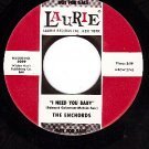 NM LAURIE 3089 ENCHORDS I Need You Baby/Zoom Zoom Zoom