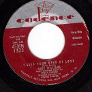 NM CADENCE 1323 ANDY WILLIAMS ~ Like Your Kind Of Love