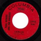 NM PAUL REVERE/RAIDERS 45 4-44018 Ups And Downs/Leslie