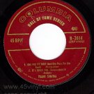 M- COLUMBIA EP B-2614 45 +PS FRANK SINATRA Hall Of Fame