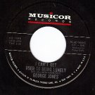 NM MUSICOR 1098 GEORGE JONES Cant Get Used Being Lonely