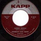 KAPP 181 ARMENIAN JAZZ SEXTET Harem Dance ~ Pretty Girl