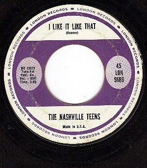 LONDON 9689 NASHVILLE TEENS Tobacco Road/I Like That