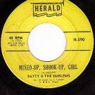 HERALD 590 PATTY & EMBLEMS Mixed-Up Shook-Up Girl ~ Guy
