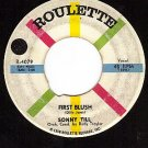 ROULETTE 4079 45 rpm SONNY TILL ~ First Blush ~ Shy