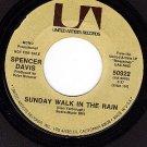 PROMO 45 UA 50922 SPENCER DAVIS Sunday Walk In The Rain