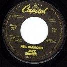 45 NM CAPITOL 4994 NEIL DIAMOND America ~ Songs Of Life