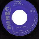 CHESS 1883 45 rpm CHUCK BERRY ~ Nadine ~ O Rangutang